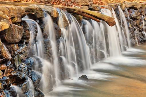 Free Stock Photo of Ridley Creek Dam Waterfall - HDR