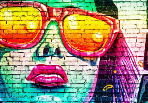 Free Stock Photo of Street Art - Graffiti - Variation One