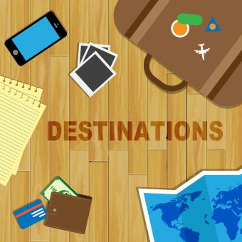 Free Stock Photo of Travel Destinations Indicates Journeys Travelling And Sightseeing