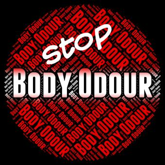 Free Stock Photo of Stop Body Odour Indicates Warning Sign And Aroma