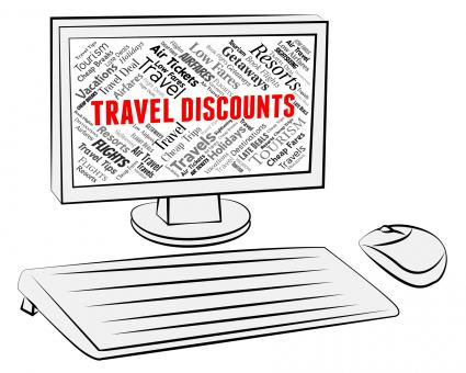 Free Stock Photo of Travel Discounts Represents Travelling Vacations And Bargains