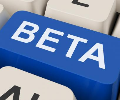 Free Stock Photo of Beta Key Shows Development Or Demo Version