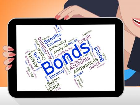 Free Stock Photo of Bonds Word Means Financial Obligation And Arrears
