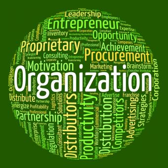 Free Stock Photo of Organization Word Indicates Structuring Consortium And Text