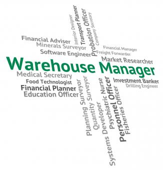 Free Stock Photo of Warehouse Manager Shows Occupation Depot And Stockroom