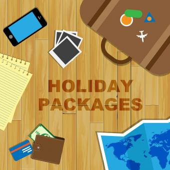 Free Stock Photo of Holiday Packages Means Organised Trip And Holidays
