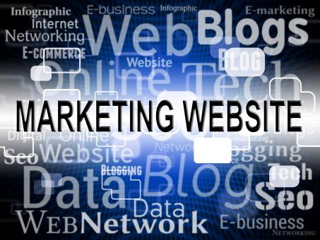 Free Stock Photo of Marketing Website Indicates Media E-Marketing And Online