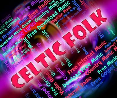 Free Stock Photo of Celtic Folk Represents Sound Track And Gaelic