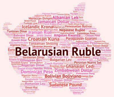Free Stock Photo of Belarusian Ruble Shows Worldwide Trading And Byr