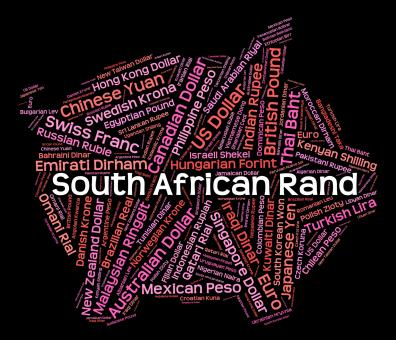 Free Stock Photo of South African Rand Represents Worldwide Trading And Banknotes