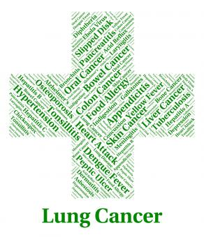 Free Stock Photo of Lung Cancer Indicates Cancerous Growth And Affliction