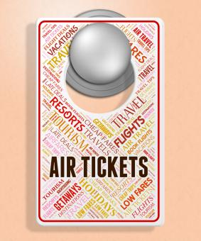 Free Stock Photo of Air Tickets Indicates Flying Retail And Airplane