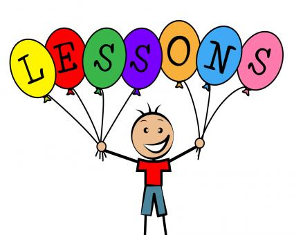 Free Stock Photo of Lessons Balloons Indicates Educating Learned And Childhood