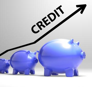 Free Stock Photo of Credit Arrow Means Lending Debt And Repayments