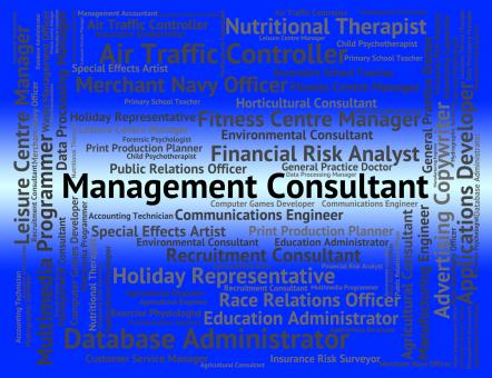 Free Stock Photo of Management Consultant Represents Career Authority And Experts