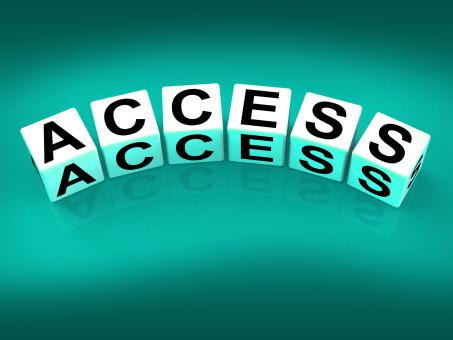 Free Stock Photo of Access Blocks Show Admittance Accessibility and Entry