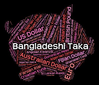 Free Stock Photo of Bangladeshi Taka Means Forex Trading And Currencies