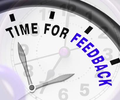 Free Stock Photo of Time For feedback Showing Opinion Evaluation And Surveys
