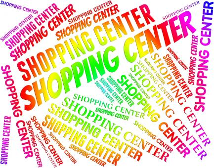 Free Stock Photo of Shopping Center Shows Retail Sales And Commerce