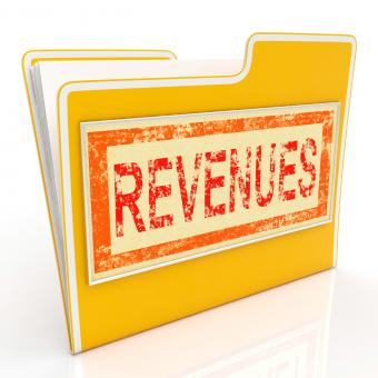 Free Stock Photo of Revenues File Represents Business Document And Folder