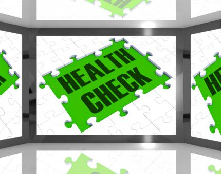 Free Stock Photo of Health Check Showing Medical Monitoring