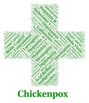 Free Stock Photo of Chickenpox Illness Represents Poor Health And Affliction