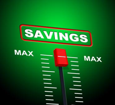 Free Stock Photo of Savings Max Means Upper Limit And Extremity