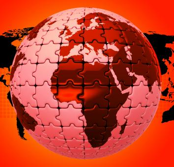 Free Stock Photo of Global Warming Shows Globalise Globalization And World