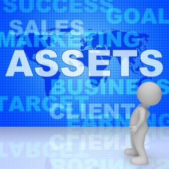 Free Stock Photo of Assets Words Shows Wealth Valuables And Goods 3d Rendering