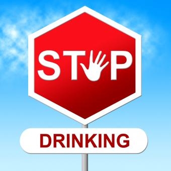 Free Stock Photo of Stop Drinking Means The Hard Stuff And Grog