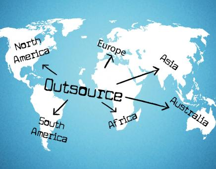 Free Stock Photo of Outsource Worldwide Represents Independent Contractor And Resources