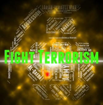 Free Stock Photo of Fight Terrorism Shows Take On And Hijacker