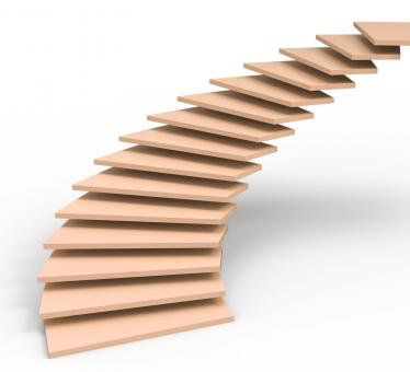 Free Stock Photo of Vision Future Represents Stairs Objectives And Ascending