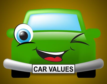 Free Stock Photo of Car Values Shows Current Price And Automobile