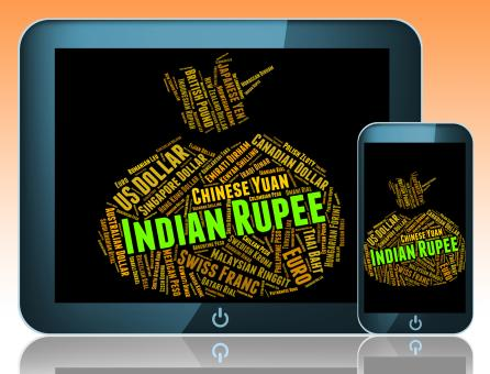 Free Stock Photo of Indian Rupee Represents Foreign Currency And Currencies