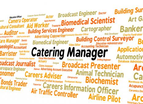 Free Stock Photo of Catering Manager Represents Employee Position And Recruitment