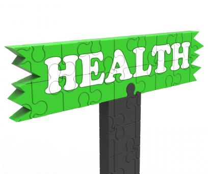 Free Stock Photo of Health Sign Shows Healthcare Wellbeing Condition