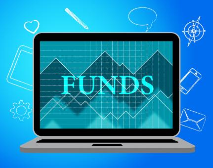 Free Stock Photo of Funds Online Indicates Stock Market And Computing