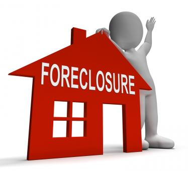 Free Stock Photo of Foreclosure House Shows Repossession And Sale By Lender
