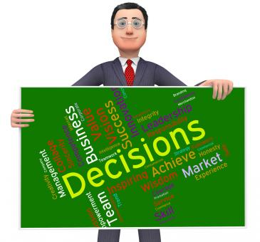 Free Stock Photo of Decision Words Indicates Decided Wordcloud And Text