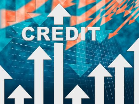 Free Stock Photo of Credit Graph Indicates Finance And Loan Diagram