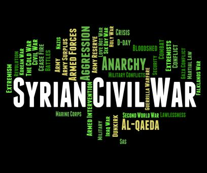Free Stock Photo of Syrian Civil War Represents Military Action And Assad