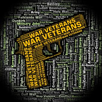 Free Stock Photo of War Veterans Indicates Long Service And Combat