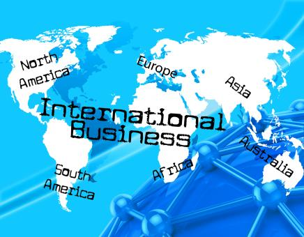 Free Stock Photo of International Business Represents Across The Globe And Countries