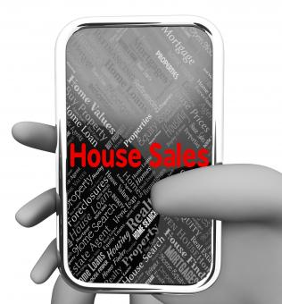Free Stock Photo of House Sales Indicates Phones Www And Phone