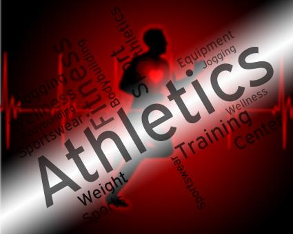 Free Stock Photo of Athletics Word Represents Getting Fit And Aerobic