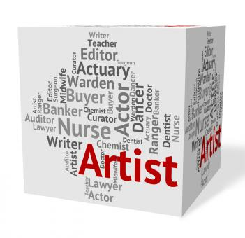 Free Stock Photo of Artist Job Indicates Drawer Artwork And Painting