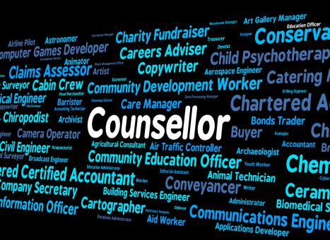 Free Stock Photo of Counsellor Job Means Adviser Hiring And Occupation