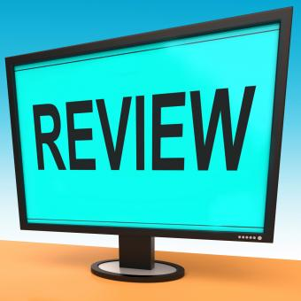 Free Stock Photo of Review Screen Means Check Reviewing Or Reassess