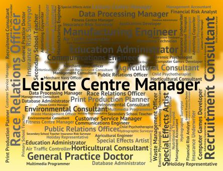 Free Stock Photo of Leisure Centre Manager Represents Physical Activity And Career